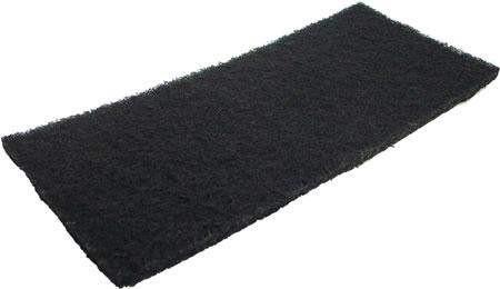 Schwarzes Reinigungspad groß