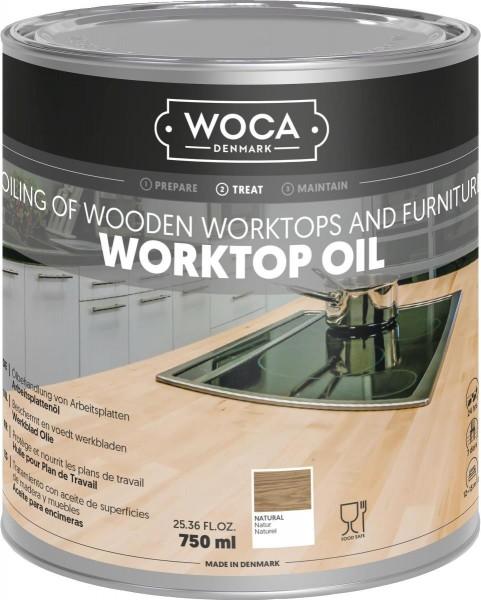 WOCA Arbeitsplattenöl 0,75 Liter